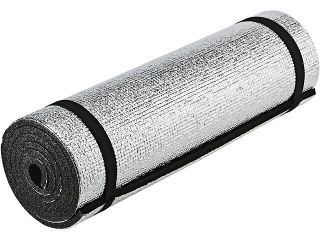 CAMPZ Aluminium Sleeping Pad Single-Layer 180x50cm black/silver
